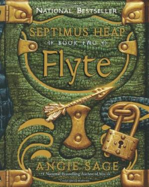 Book cover Flyte (Septimus Heap, Book 2)
