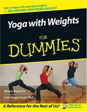 Portada del libro Yoga with Weights For Dummies