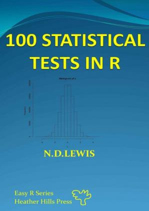 Book cover 100 Statistical Tests: In R