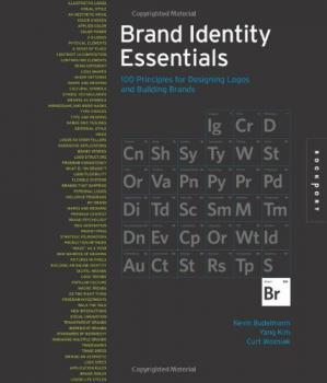 Book cover Brand Identity Essentials: 100 Principles for Designing Logos and Building Brands