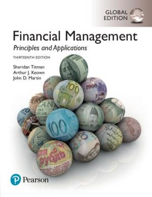 Book cover Financial Management: Principles and Applications