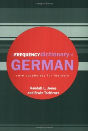 Buchdeckel A Frequency Dictionary of German: Core Vocabulary for Learners