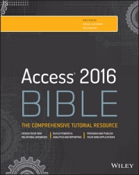 Book cover Access 2016 Bible