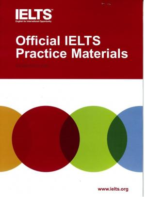 Book cover Official IELTS Practice Materials