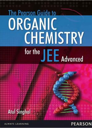 A capa do livro The Pearson Guide to Organic Chemistry for the JEE Advanced