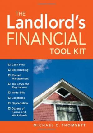Korice knjige The Landlord's Financial Tool Kit