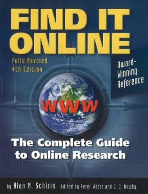Copertina Find It Online: The Complete Guide to Online Research, Fourth Edition
