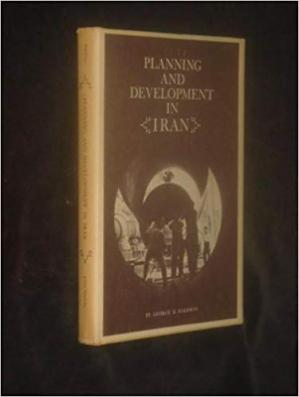 La couverture du livre Planning and Development in Iran