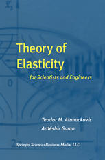 Book cover Theory of Elasticity for Scientists and Engineers