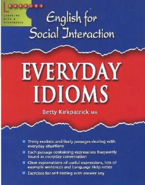 Okładka książki English For Social Interaction - Everyday Idioms