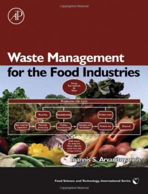 Book cover Waste Management for the Food Industries