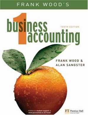 Copertina Frank Wood's Business Accounting 1 (v. 1), 10th Edition