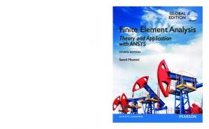 Book cover Finite Element Analysis: Theory and Application with ANSYS