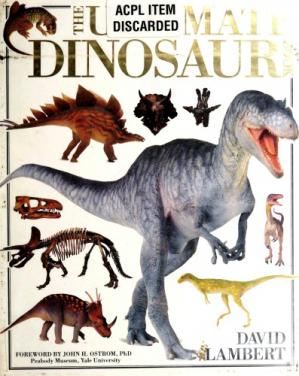 Book cover The Ultimate Dinosaur Book