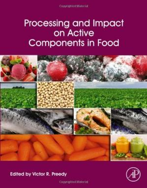 पुस्तक कवर Processing and Impact on Active Components in Food