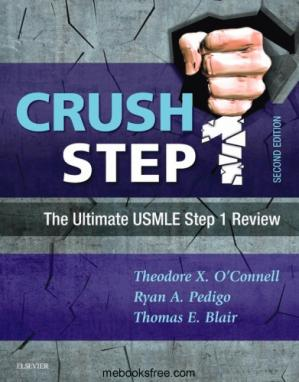 Book cover Crush Step 1: The Ultimate USMLE Step 1 Review