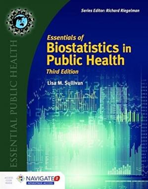 Book cover Essentials of Biostatistics in Public Health