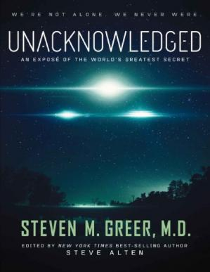 Book cover Unacknowledged: An Expose of the World's Greatest Secret