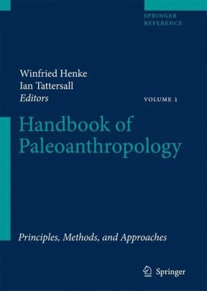 Portada del libro Handbook of Paleoanthropology:Principles, vol 1: Methods and Approaches Vol II:Primate Evolution and Human Origins Vol III:Phylogeny of Hominids