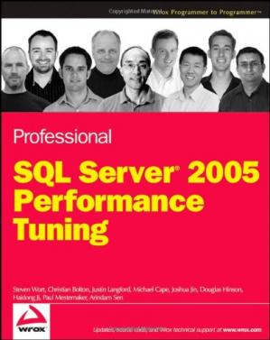 Book cover Professional SQL Server 2005 Performance Tuning