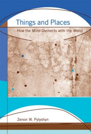 A capa do livro Things and Places: How the Mind Connects with the World