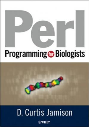 Buchdeckel Perl Programming for Biologists