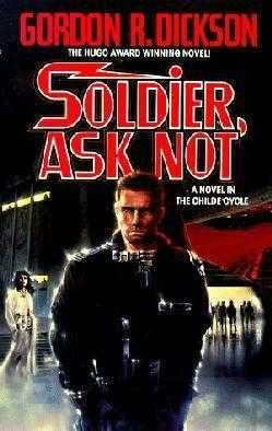Book cover Soldier Ask Not