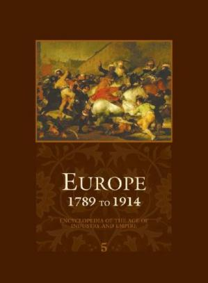 Copertina Europe - 1789 to 1914 - Encyclopedia of the Age of Industry and Empire (Europe)