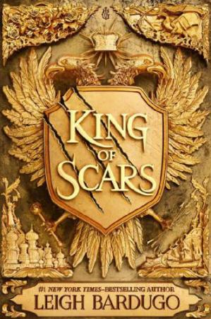 Book cover King of Scars