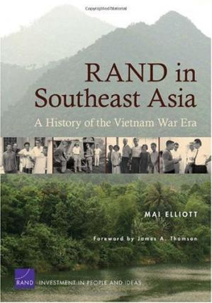 Book cover RAND in Southeast Asia: A History of the Vietnam War Era