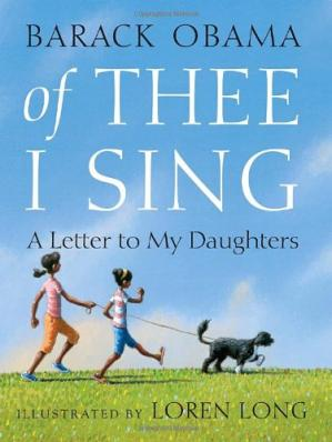 Обложка книги Of Thee I Sing: A Letter to My Daughters