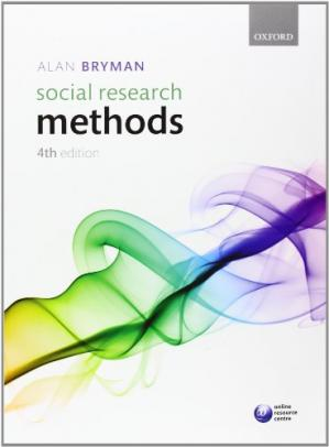Book cover Social Research Methods, 4th Edition