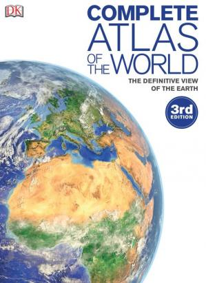 A capa do livro Complete Atlas of the World