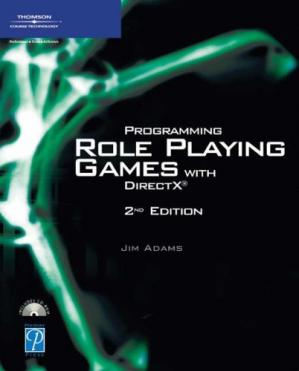 Book cover Programming Role Playing Games with DirectX (Game Development Series)