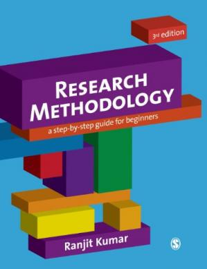 Sampul buku Research Methodology: A Step-by-Step Guide for Beginners