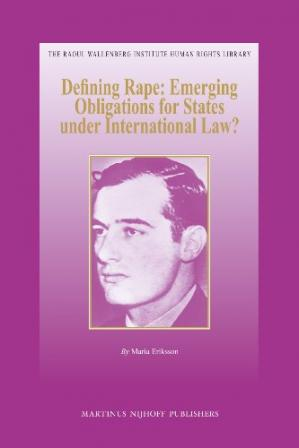 Sampul buku Defining Rape: Emerging Obligations for States under International Law?