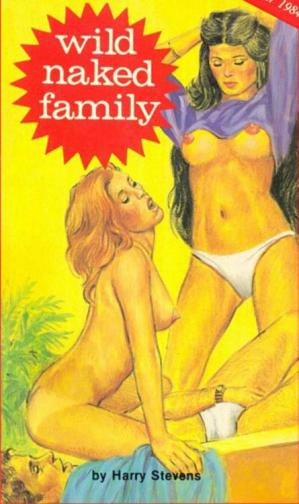 Book cover Wild Naked Family