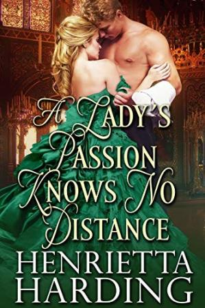 Book cover A Lady's Passion Knows No Distance