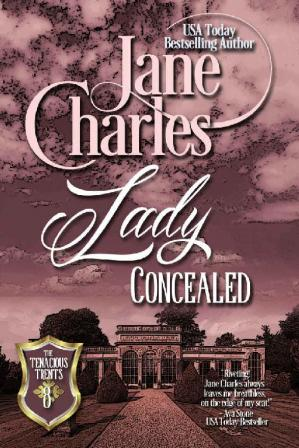 Book cover Lady Concealed (Tenacious Trents Series #8)