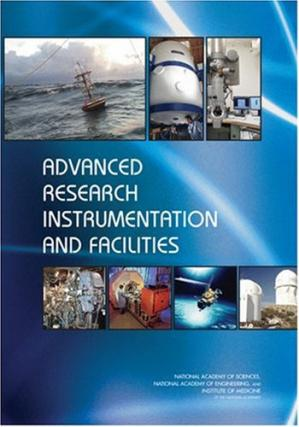 A capa do livro Advanced Research Instrumentation and Facilities