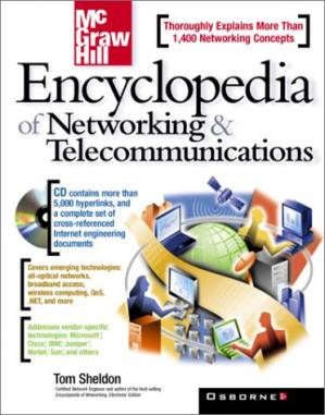 పుస్తక అట్ట Encyclopedia of Networking & Telecommunications