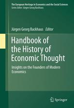 Book cover Handbook of the History of Economic Thought: Insights on the Founders of Modern Economics