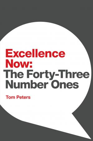 Book cover Excellence Now: The Forty-Three Number Ones