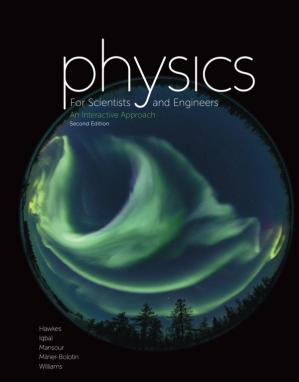 Book cover Physics for scientists and engineers : an interactive approach