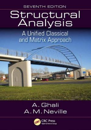 Book cover Structural Analysis : A Unified Classical and Matrix Approach, Seventh Edition