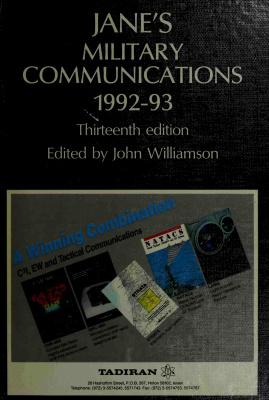 Book cover Jane's Military Communications 1992-93