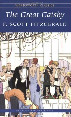 Book cover The Great Gatsby (Wordsworth Classics)