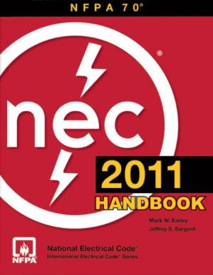 Book cover National Electrical Code 2011 Handbook