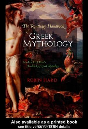 书籍封面 Handbook of Greek Mythology
