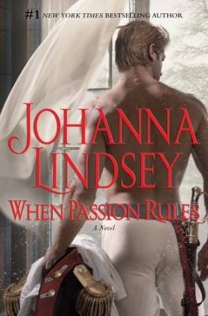 A capa do livro When Passion Rules